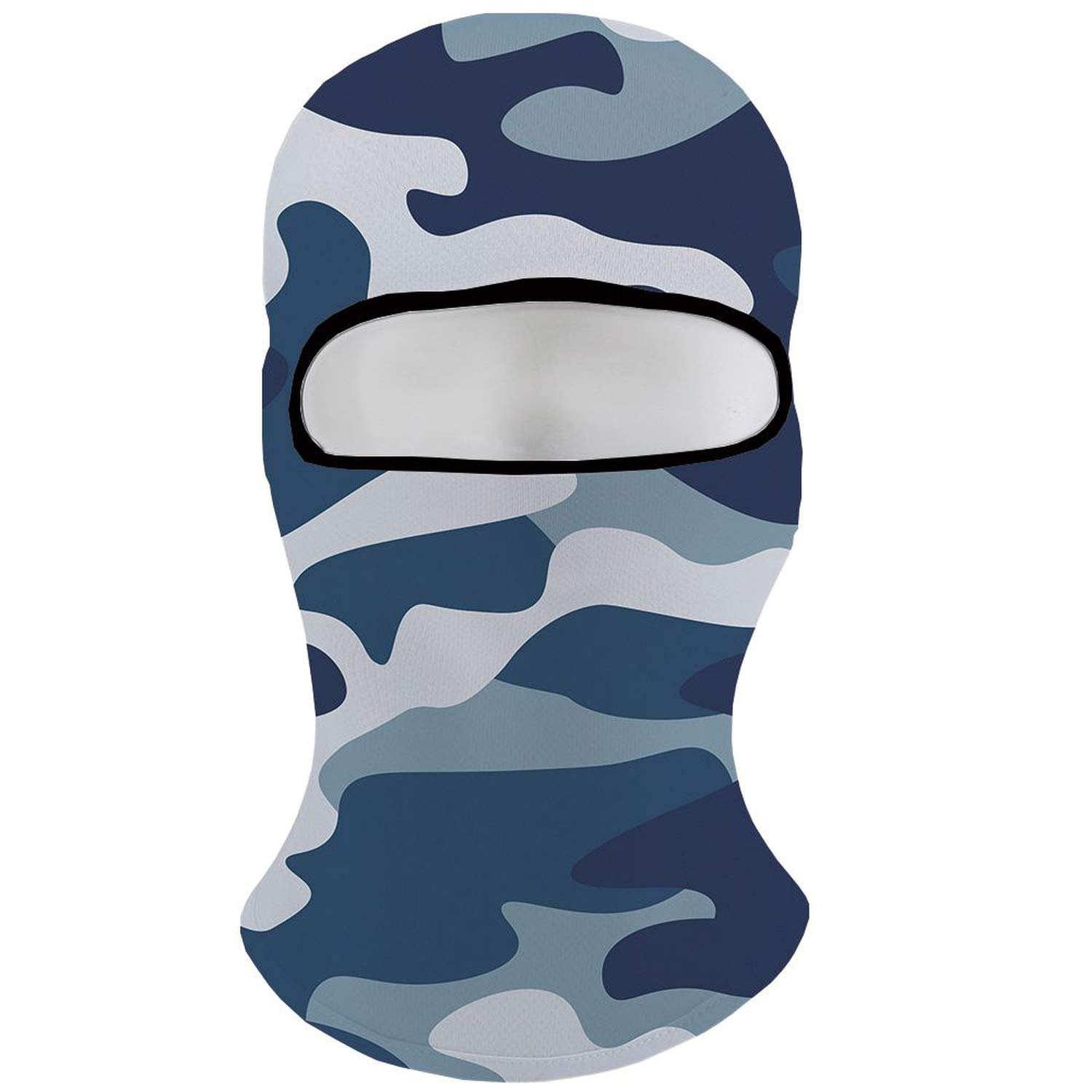 Camo Beanies Men Blue Camouflage Balaclava Gothic Hats ski Cap Military Face Bicycle Mask Mens Beanie Animal