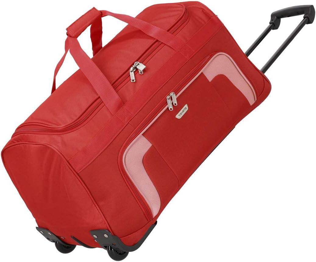 Travelite Bolsa de Viaje, 73 litros, 70 cm, Rojo