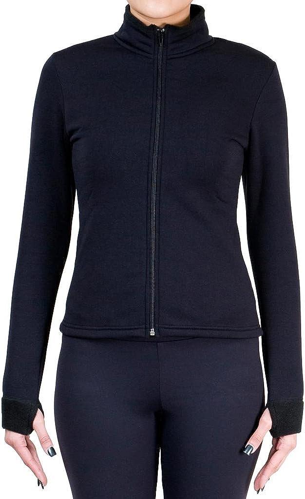 ny2 Sportswear Figure Skating Polartec Polar Fleece Jacket with Spangles JS120B