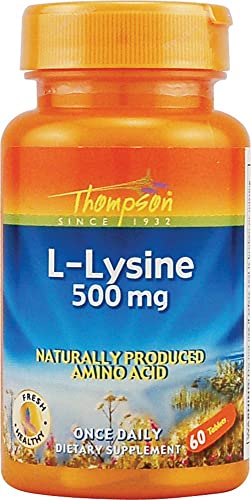 L-Lysine Thompson 60 Tabs