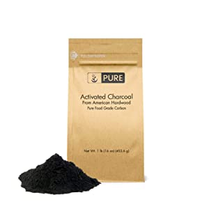 PURE Activated Charcoal Powder (1 lb.) Highest Quality, TOP Pharmaceutical Grade, Vegan, Gluten-Free
