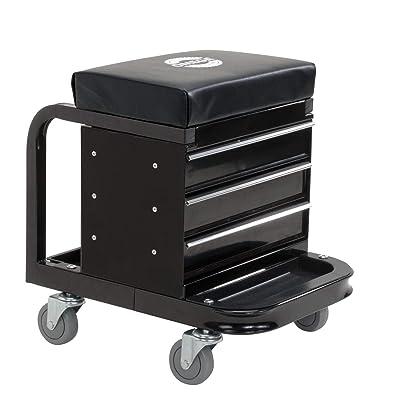 Omega 92450 Black Tool Box Creeper: Automotive