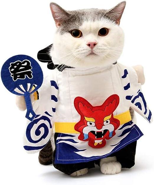 CXQ Ropa de Gato, coño, Vestido de Verano, Gatito, Perro, Vestido de Verano, Mascota, Vestido Divertido (Size : M): Amazon.es: Productos para mascotas
