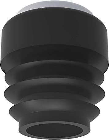 - 12 unidades///Ø 16,00 mm Para suelos cer/ámicos y de madera con bases especiales Conteras para sillas de tubo redondo CUERPO: EVA//BASE: Poliacetal + Tefl/ón