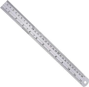 12 Stainless Steel Ruler