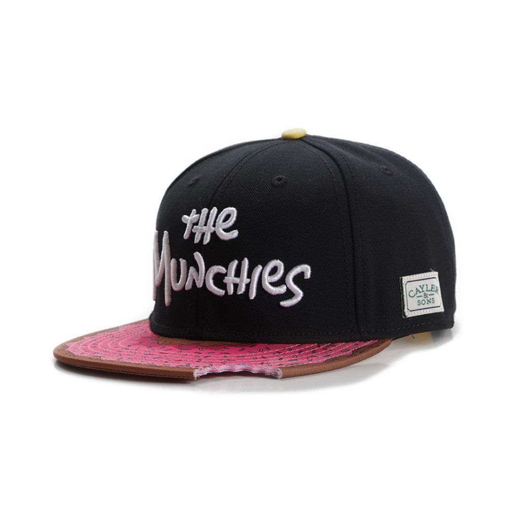 Gorra Cayler & Sons - C&S Gl Muchies Classic negro/rosa talla ...