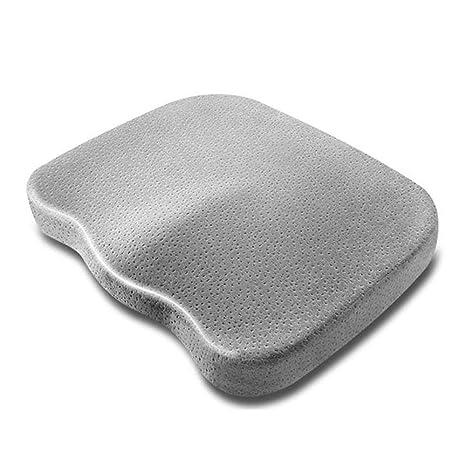 SXTYRL - Cojín de espuma viscoelástica para asiento de viaje ...