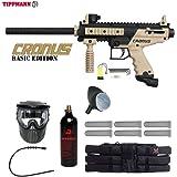 Tippmann Cronus Tactical Titanium Paintball Gun Package