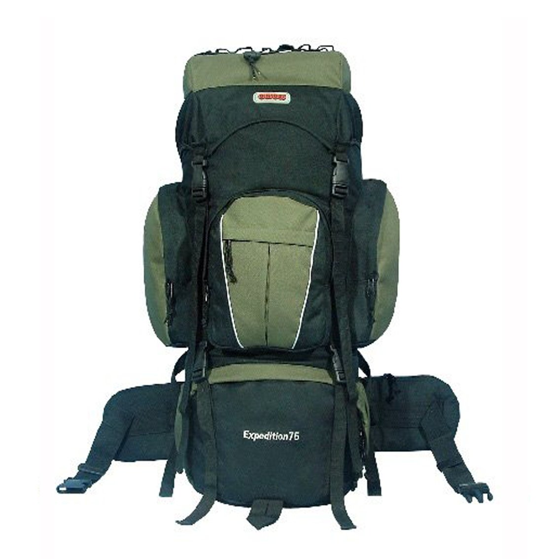 Amazon.com   NEW CUSCUS 75+10L 5400ci Internal Frame Camping Hiking Travel  Backpack - Green   Cucus Backpack   Sports   Outdoors b5a2f0bc1356e
