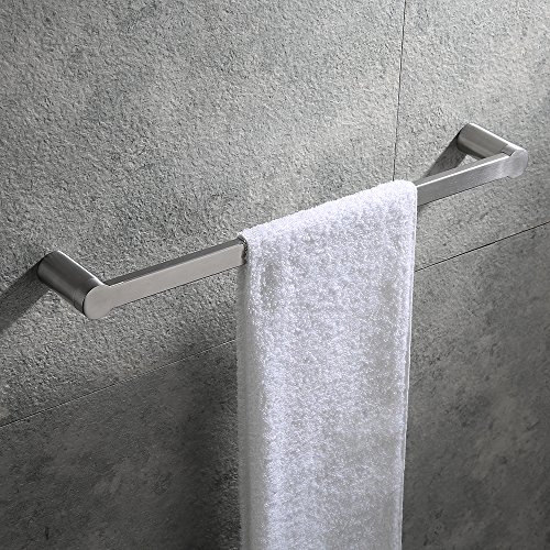 Hoooh Bath Towel Bar 18-Inch Stainless Steel Hand Towel Rack