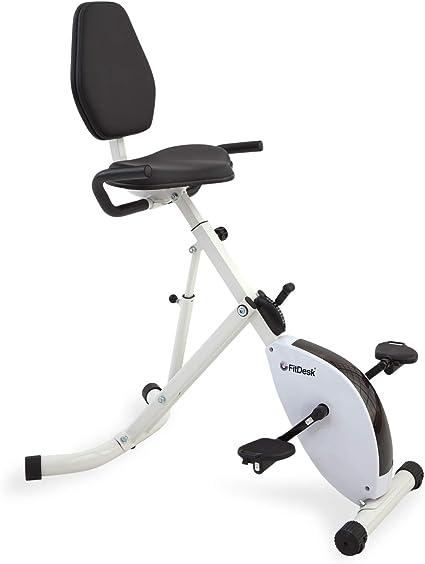 FitDesk bicicleta de escritorio de pie: Amazon.es: Deportes y aire ...