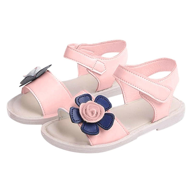 Kxnet Sandali Bambine Rosa rosa 40 2/3 EU, Bianco (Pink), 40 2/3 EU