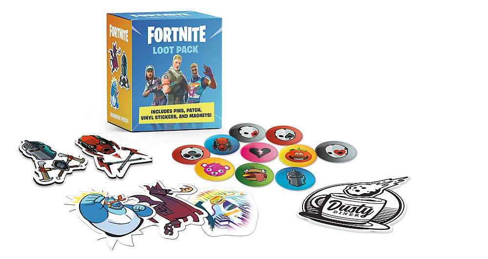 FORTNITE Official Loot Pack: Includes Pins, Patch, Vinyl Stickers, and Magnets! Rp Minis: Amazon.es: Anonymous: Libros en idiomas extranjeros
