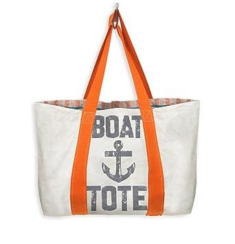 0cfe7bc6f145 Mixt Studio Reversible Travel Tote (Boat Tote-Orange Handle)