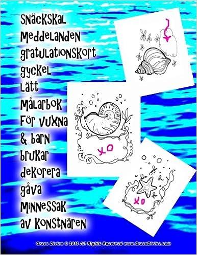 gratulationskort online Buy Snäckskal Meddelanden Gratulationskort Gyckel Lätt Målarbok  gratulationskort online
