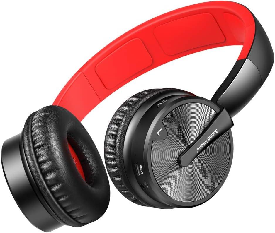 TLgf Auriculares estéreo Bluetooth, Auriculares inalámbricos ...