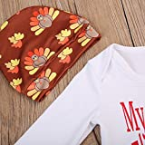 Baby Boy Girl 4pcs Outfit My First Thanksgiving