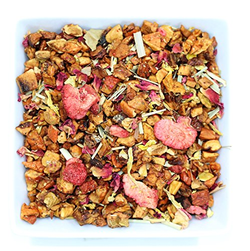 Tealyra - Strawberry Guava Jam - Apple - Lemongrass - Fruity Herbal Loose Leaf Tea - Hot and Iced Drink - Vitamins and Antioxidants Rich - Caffeine Free - All Natural - 112g (4-ounce)