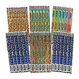 Fun Express - Motivational Pencil Assortment (144pc) - Stationery - Pencils - Pencils - Printed Assortments - 144 Pieces