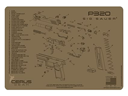 image unavailable  image not available for  color: cerus gear sig sauer  p320 schematic