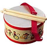 Jiyaru Kids Drum Set Musical Toy Wooden Knock Funny Children Percussion Instrument