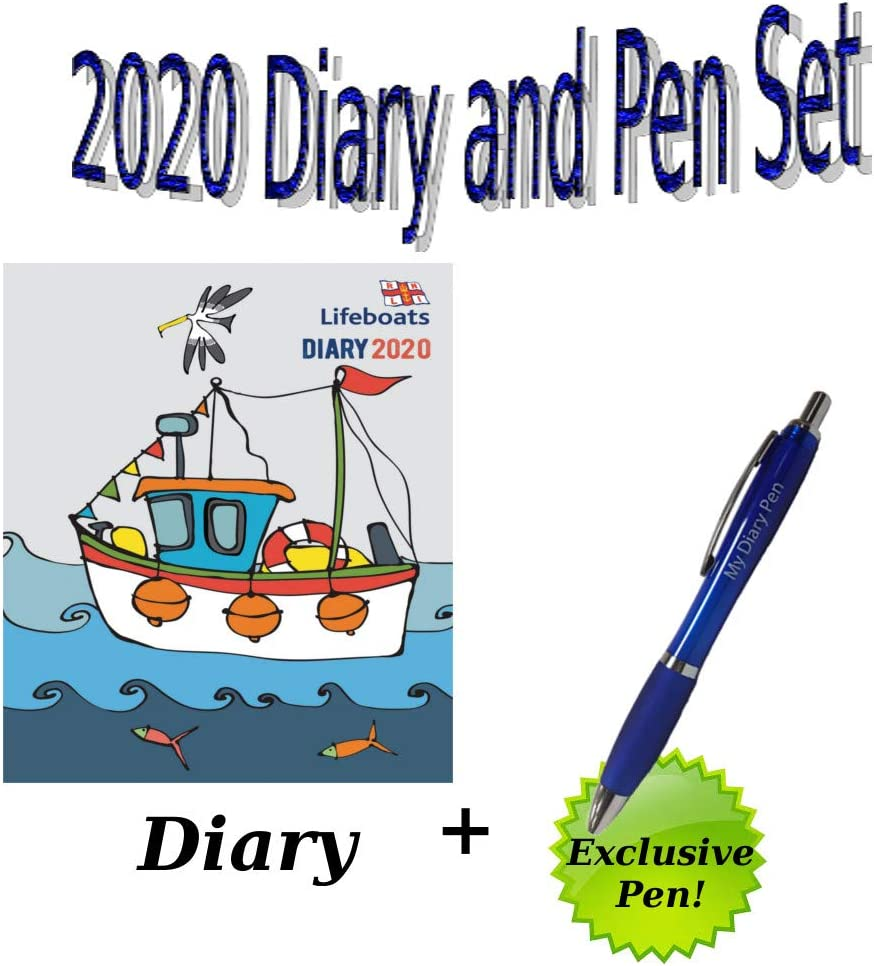 RNLI Lifeboats A5 Diary 2020