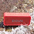 Douni A3 Portable Wireless Outdoor Bluetooth Waterproof Speaker IPX7 Water Resistant Dustproof 20W Shower Speaker,Built-in Mic,DSP Enhanced Bass,TF Card,Power Bank NFC Long Playing Time