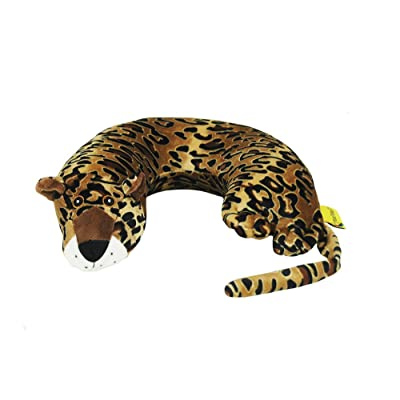 Critter Piller Kid's Travel Buddy and Comfort Pillow, Leopard: Home & Kitchen