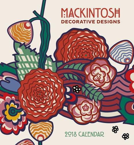 Download Mackintosh Decorative Designs 2018 Mini Wall Calendar pdf epub