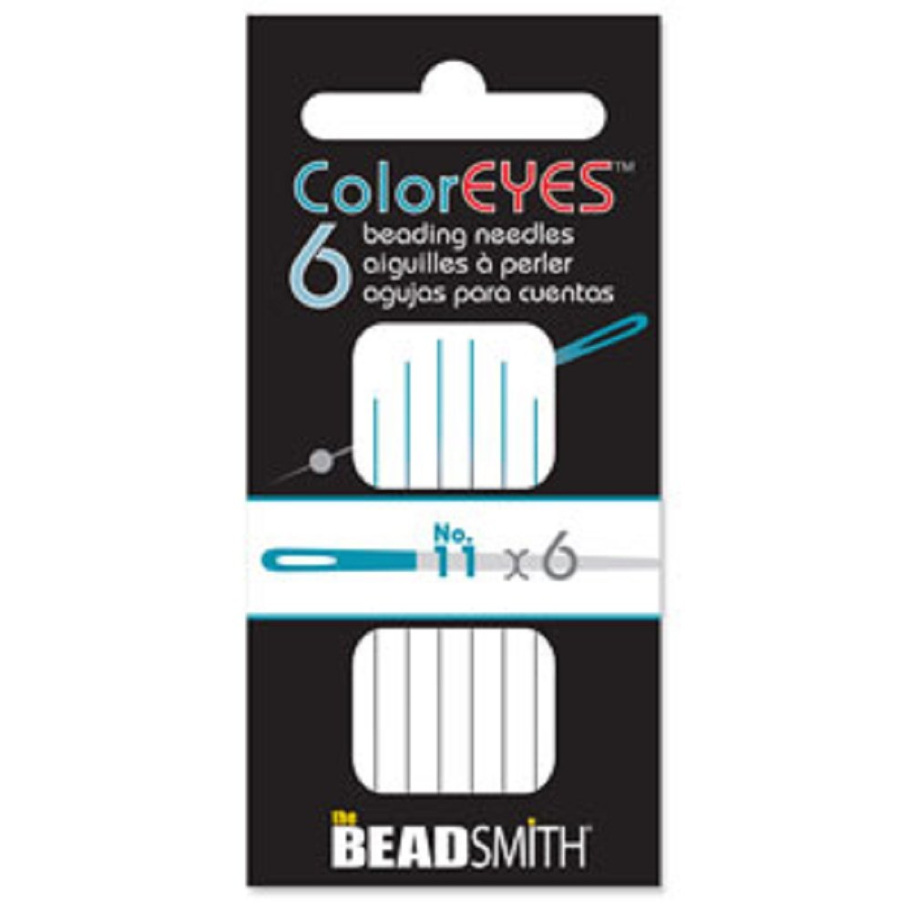 Beadsmith ColorEyes Color Identified Beading Needles (Assorted Sizes) 4336813327