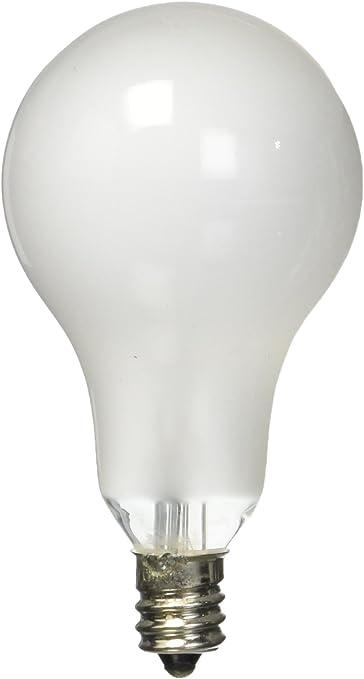Frosted Satco S2743 120-Volt 1//Card 60-Watt A15 Candelabra Base Light Bulb