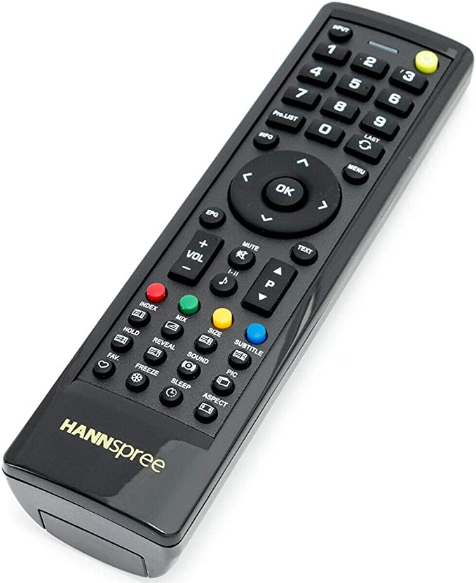 Rlsales General Replacement Remote Control Fit for Hannspree ST28FMUR ST42DMSB SV42LMUB LCD LED HDTV TV
