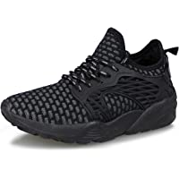 Hawkwell Kids Knit Running Shoes Boys Girls Breathable Lightweight Athletic Walking Sneakers
