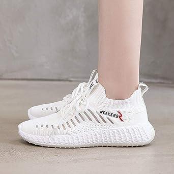 Zapatos Mujer,ZARLLE Zapatillas Running Mujer Zapatillas Deportivas Mujer De Cordones En Gimnasio Aire Libre Y Deporte Transpirables Casual Zapatos Gimnasio Correr Sneakers: Amazon.es: Ropa y accesorios