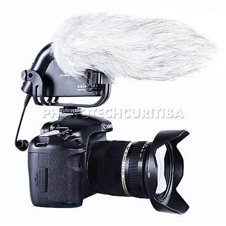 Boya Tous - Micrófono Externo para cámara réflex, Negro: Amazon.es ...
