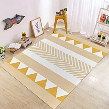 Insun Tapis Scandinave de Salon Chambre Tapis Déco Rectangle ...