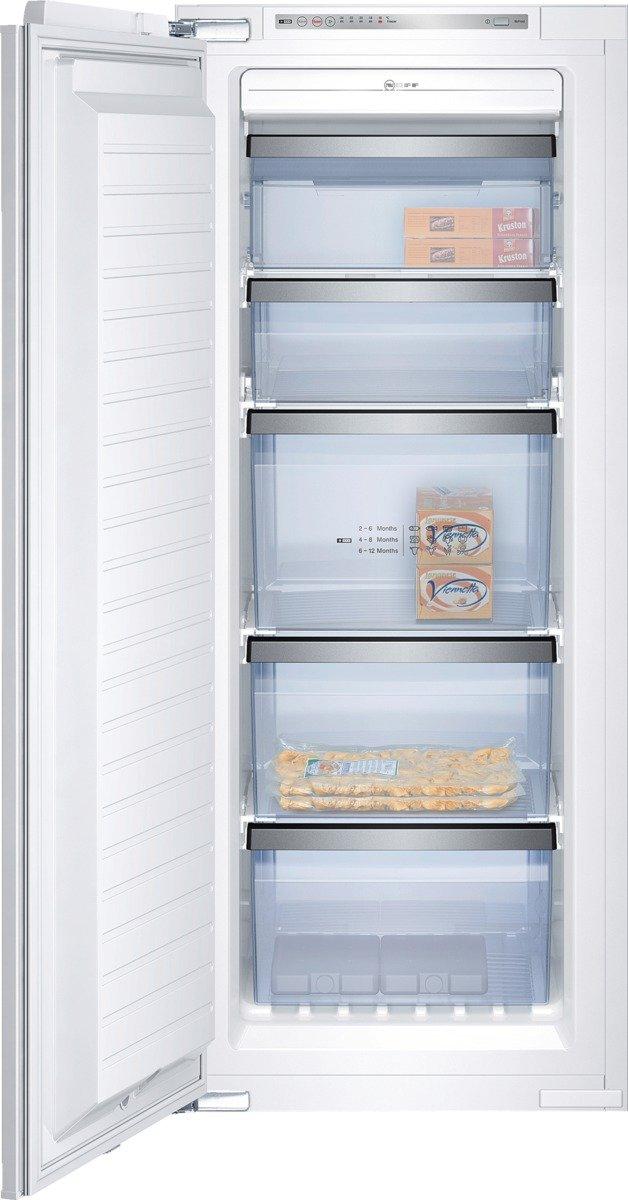 Neff G 120 Gefrierschrank/A++ / 139, 70 cm Höhe / 208 kWh/Jahr / 160 L Gefrierteil/Vollintegrierbar / weiß [Energieklasse A++] uk_B003BW192W