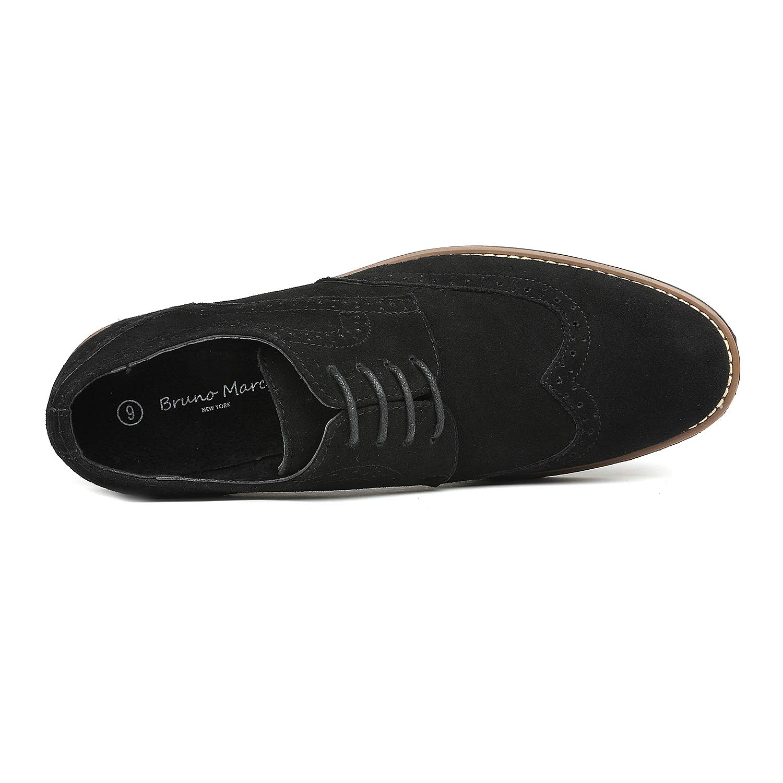 39bdcfccefdd1 Men URBAN-03 Bruno Marc Men's Urban Suede Leather Lace Up Oxfords Shoes|  DREAM PAIRS