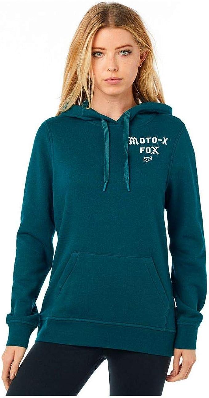Fox Womens Pullover Hooded Fleece