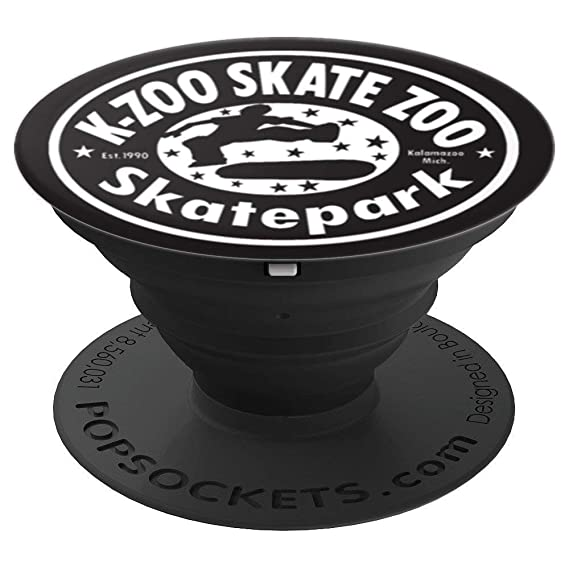 Amazon K Zoo Skate Zoo Logo Popsockets Grip And Stand For