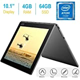 """2017 Newest Lenovo Yoga Book 10.1"""" FHD Touch IPS 2-in-1 Convertible Tablet PC Android 6.0.1"""