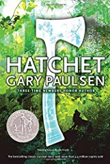 This award-winning contemporary classic is the survival story with which all others are compared—and a page-turning, heart-stopping adventure, recipient of the Newbery Honor. Hatchet has also been nominated as one of America's best-loved nove...