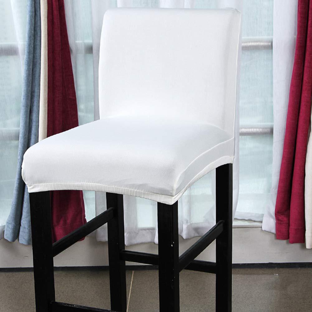 Taille Unique Housse de si/ège Extensible Salle /à Manger caf/é HINMAY Housse de Chaise pour comptoir Tabouret de Bar Red Cuisine