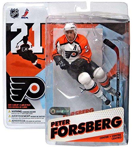 McFarlane Toys NHL Sports Picks Series 12 Action Figure Peter Forsberg (Philadelphia Flyers) White Jersey Variant