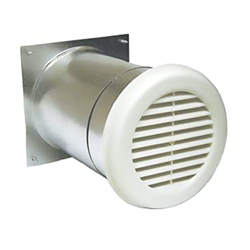 airlet 200 fresh air inlet with white exterior grille 5 9