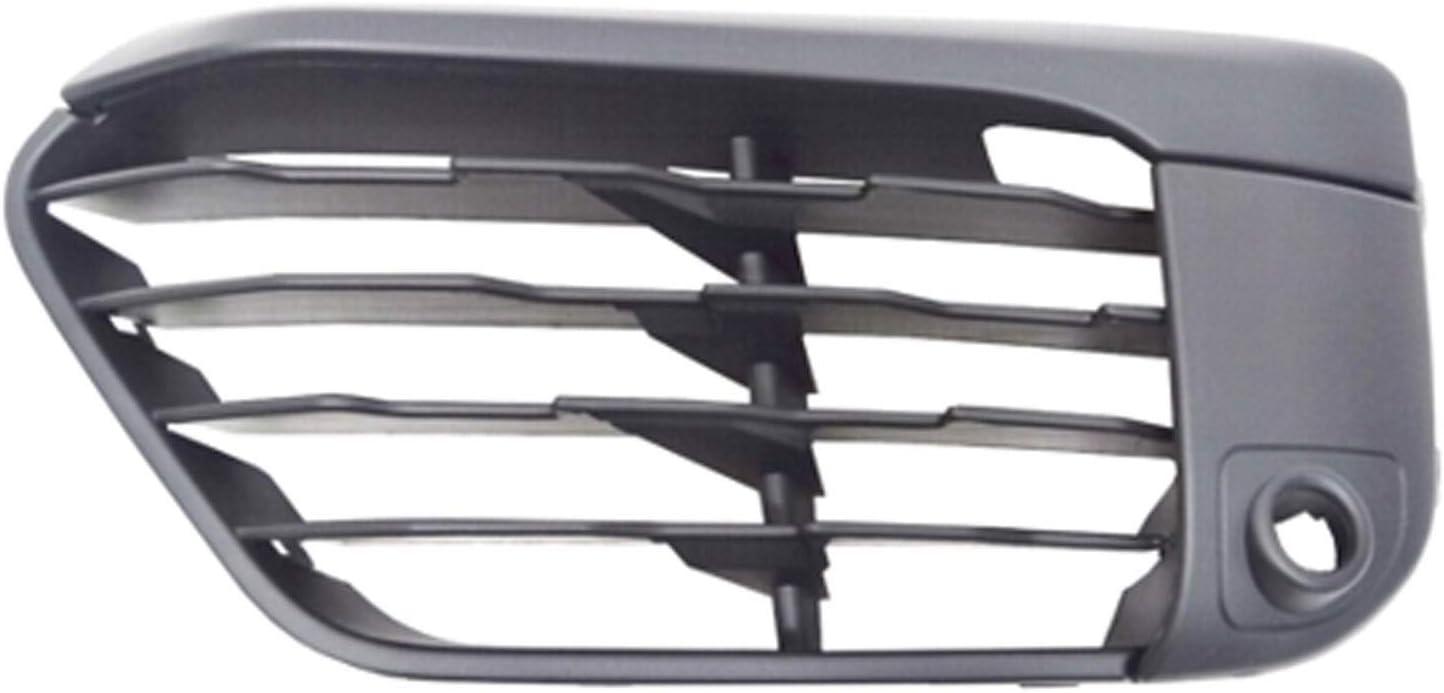 2016-2019 Bmw X1 Front Driver Side Lower Bumper Cover Grille; Base Model; With Park; Matte Black Finish; Made Of Pp Plastic Partslink BM1038204
