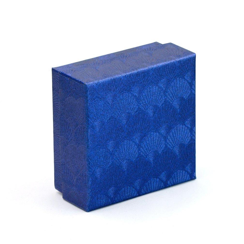 ENVIDIA Forme de Fleur de lys en Relief Embl/ème Boutons de Manchette Business f/ête P/ère de Jour Gifts