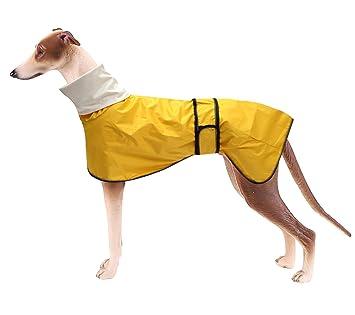 Cappotto impermeabile con fodera imbottita per Levriero | L'Ora degli Animali