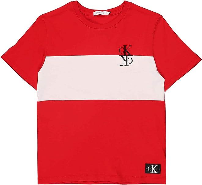 Calvin Klein IB0IB000386 Colour Block Camisetas Y Camisa DE Tirantes Boy: Amazon.es: Ropa y accesorios