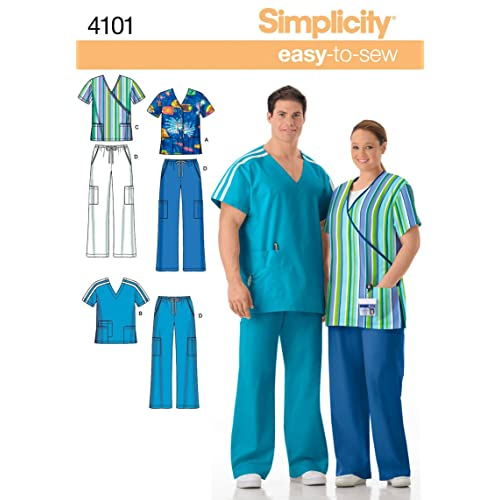 Sewing PATTERNS For Scrubs Amazon Delectable Scrub Patterns